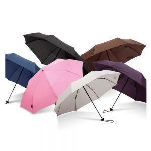 super mini logo umbrellas