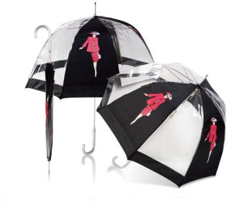Umbrellas & Parasols PVC Dome Walker Branded Umbrella