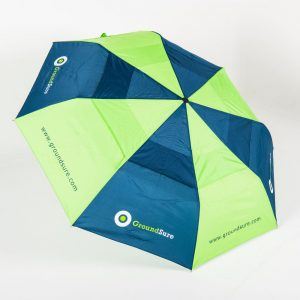Canopy of Über Brolly Automatic Vented Telescopic Promotional Umbrella
