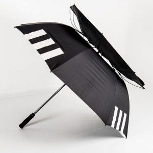 Vented canopy of Über Brolly Golf Promotional Umbrella