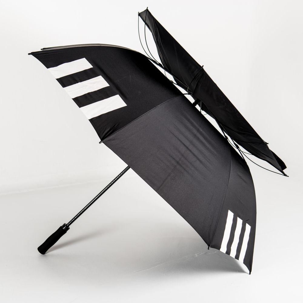 Vented canopy of Über Brolly Golf Promotional Umbrella & LoGo Umbrellas: LoGU Vented Automatic Golf