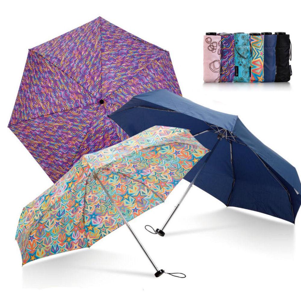 02854e320f728 Ultra Compact Telescopic Promotional Umbrella
