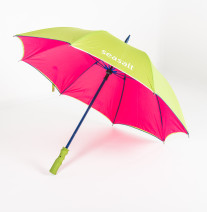 Logo umbrellas with pantone matched frame