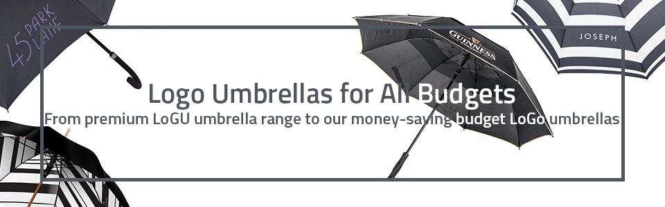 logo umbrellas for all budgets