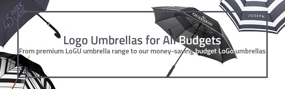 logo umbrellas for all budgets